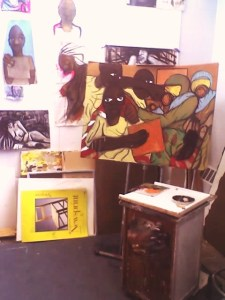 IN MY STUDIO