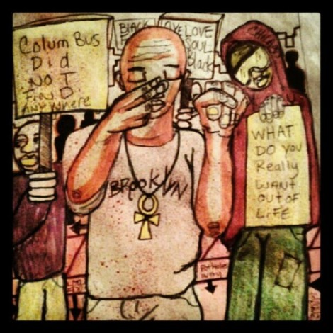 2013 what up kid art by marcellous lovelace