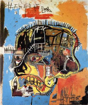 1984 Untitled by Jean Michel Basquiat