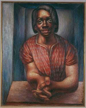 1951 Woman Worker by Charles White