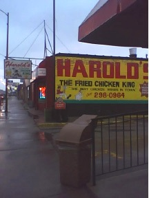 83rd and Ashland - Harold's Chicken