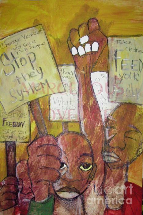 2008 Stop They System Feed Your Family - Marcellous Lovelace