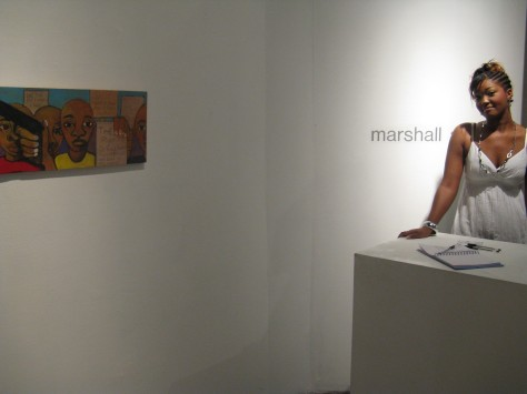 Keshia at Marshall Arts 2009