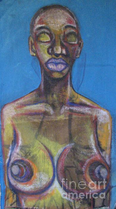 2008 nOT Affraid Of hER sELF Painting by Marcellous Lovelace