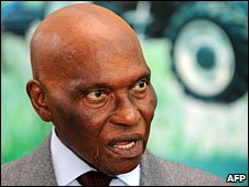 "Abdoulaye Wade said Haitians could ""return to their origin"""