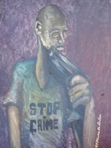 1999 stop violence now by marcellous lovelace