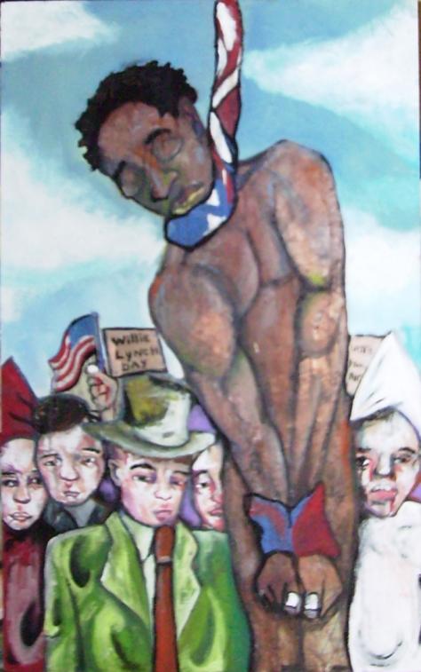 2008 An American Sunday In Jamestown 30x48