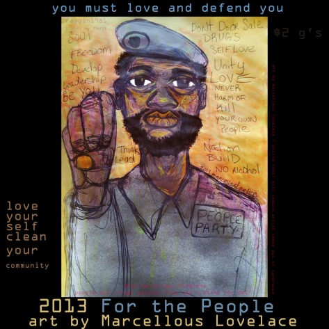 2013 For the People art by Marcellous Lovelace