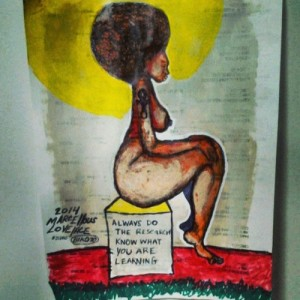 2014 Do the Research See Her Soul art by Marcellous Lovelace