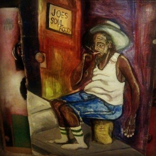 1998 Joes Soul Food art by Marcellous Lovelace