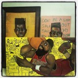 2013 fear the mfin beard art by Marcellous Lovelace