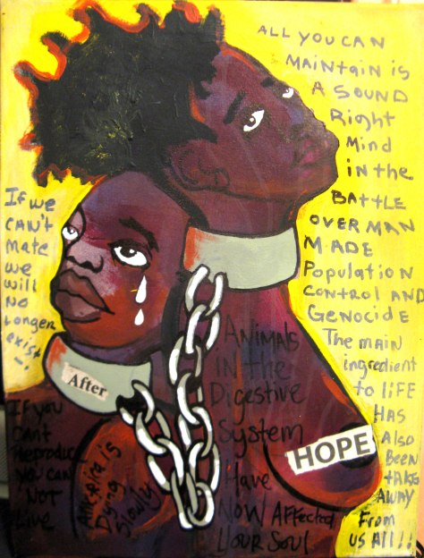 2010 after hope by Marcellous Lovelace_18x24