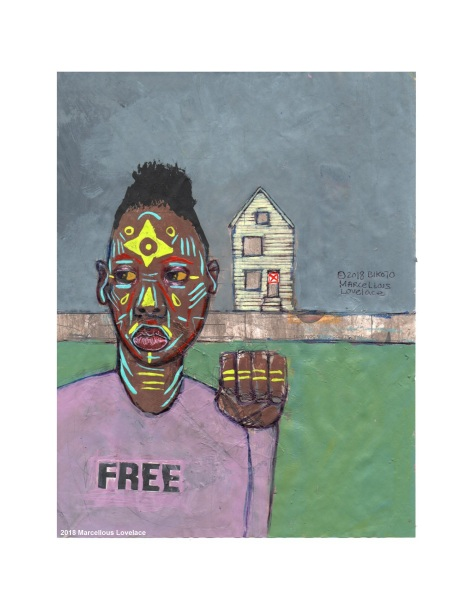 2018 Free From Condemnation art by Marcellous Lovelace
