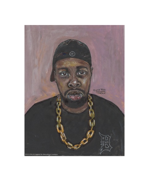 2018 JDILLA Legend art By Marcellous Lovelace