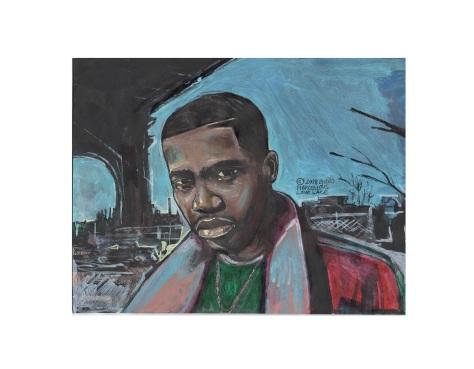 2018 Nasty The Rapper Nas art by Marcellous Lovelace