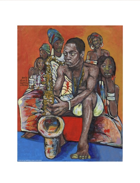 2018 Ransome Fela Kuti Art by MARCELLOUS LOVELACE
